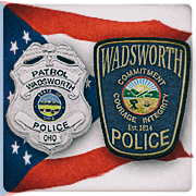 Wadsworth Police Badge and Patch